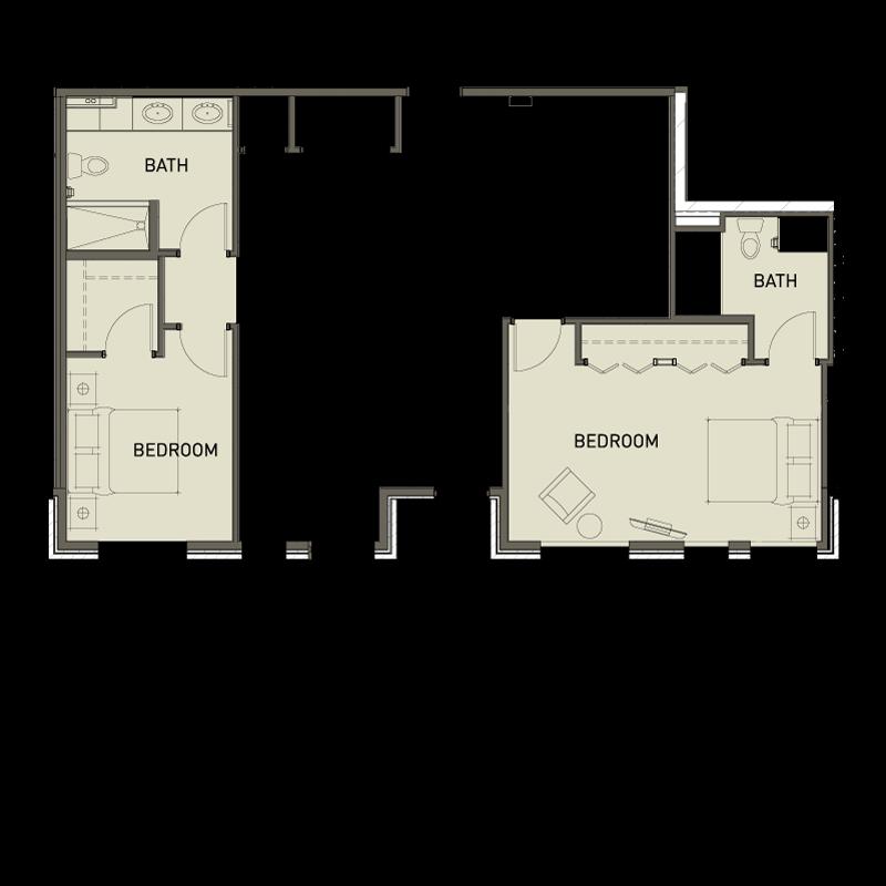 2a 2 bedroom