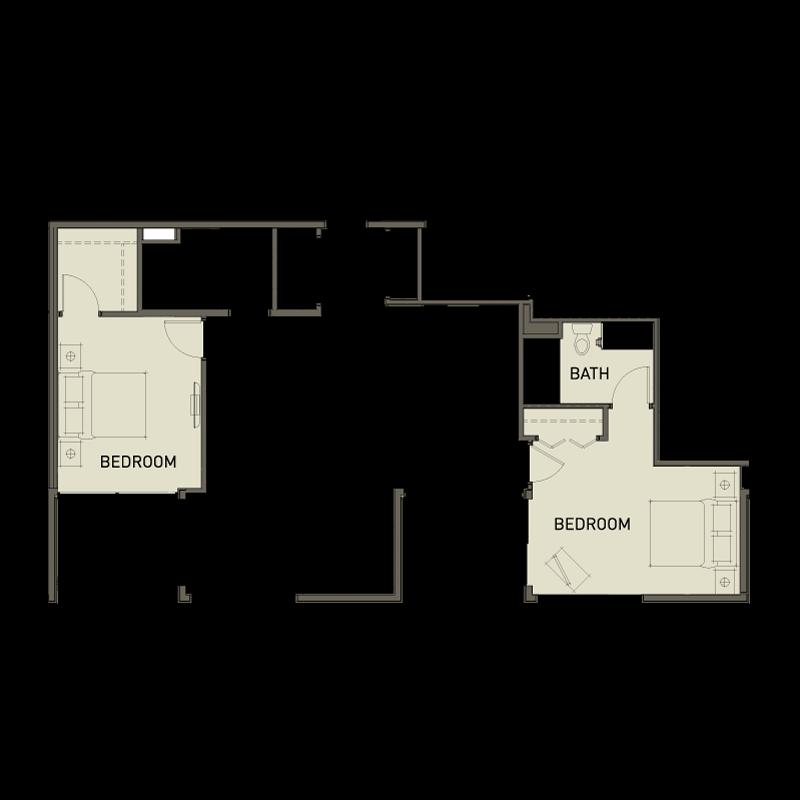 2c 2 bedroom