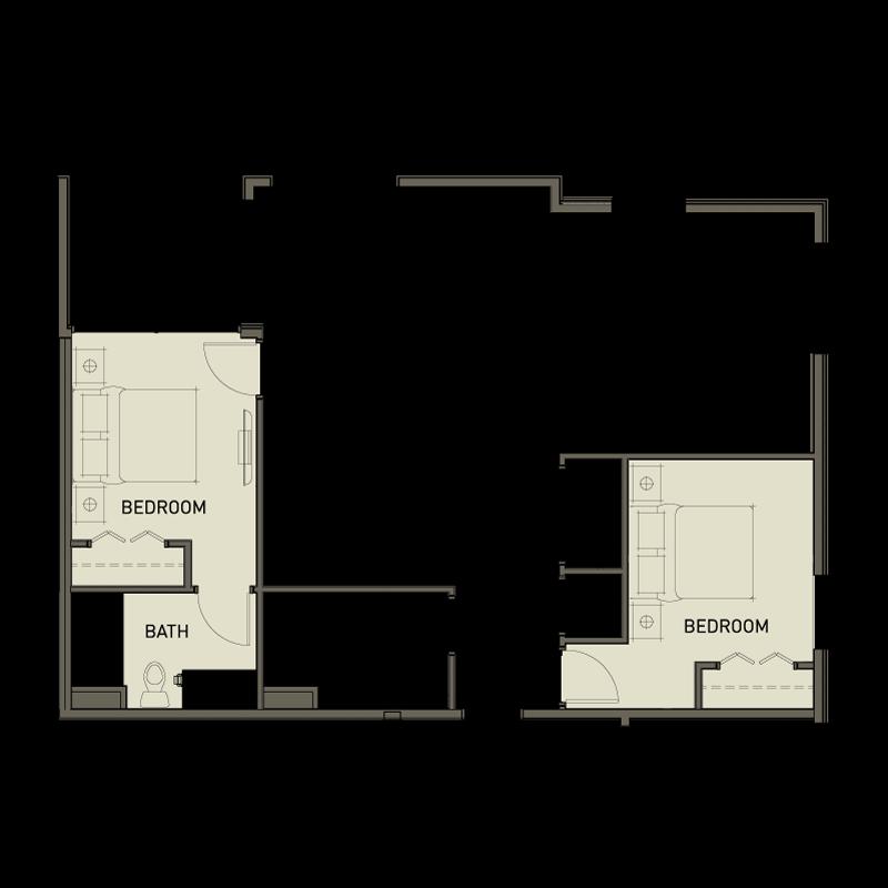 2d 2 bedroom
