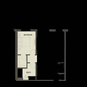 1ba 1 bedroom
