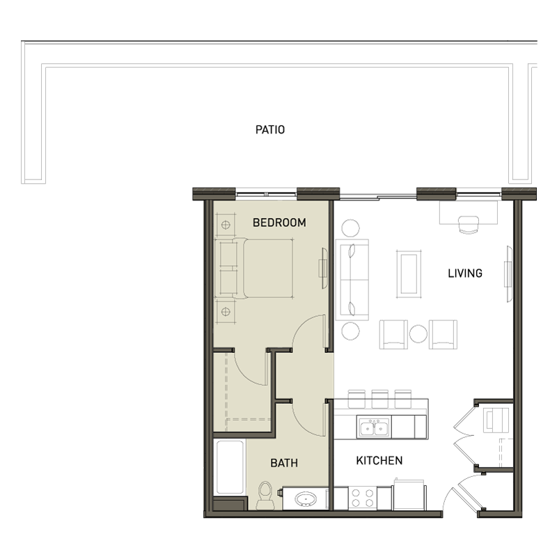 1bb 1 bedroom