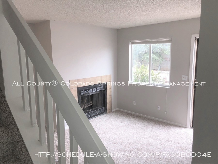 2-bedroom_fountain_apartment_for_rent_near_fort_carson_military_base_and_fountain_valley_park-living_room_view_from_stairs