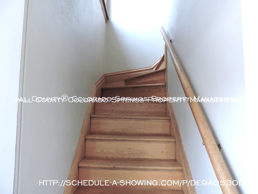 Room for rent downtown in quaint old house near colorado college cc back staircase