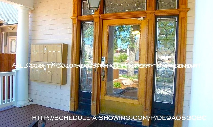 Room for rent downtown in quaint old house near colorado college cc front door