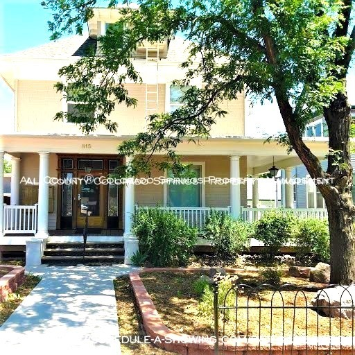 Room for rent downtown in quaint old house near colorado college cc front