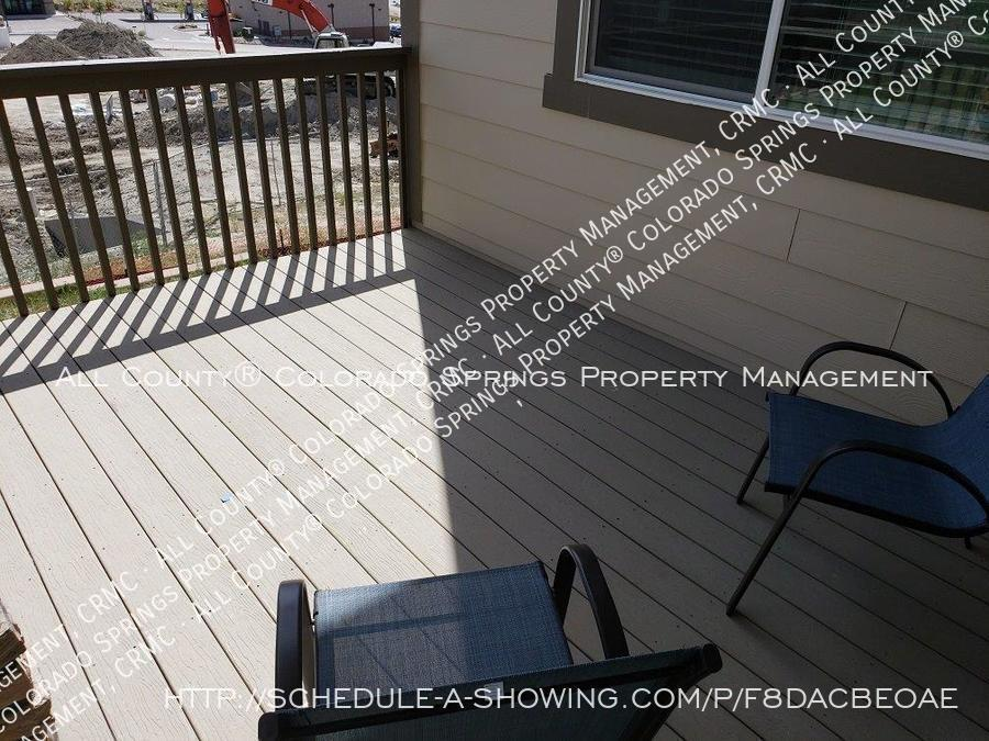 3 bedroom monument town home for rent near us air force academy z3