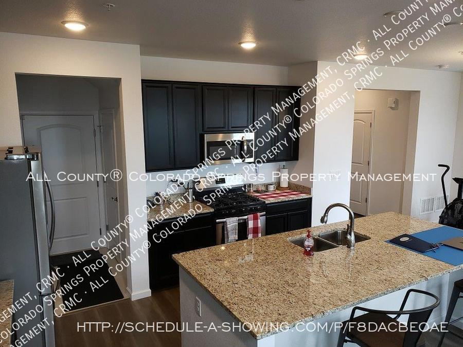 3 bedroom monument town home for rent near us air force academy 4