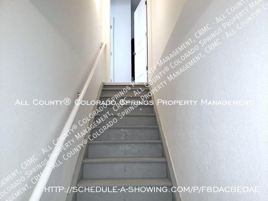3 bedroom monument town home for rent near us air force academy w