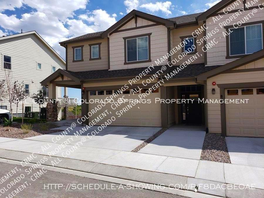3 bedroom monument town home for rent near us air force academy z6