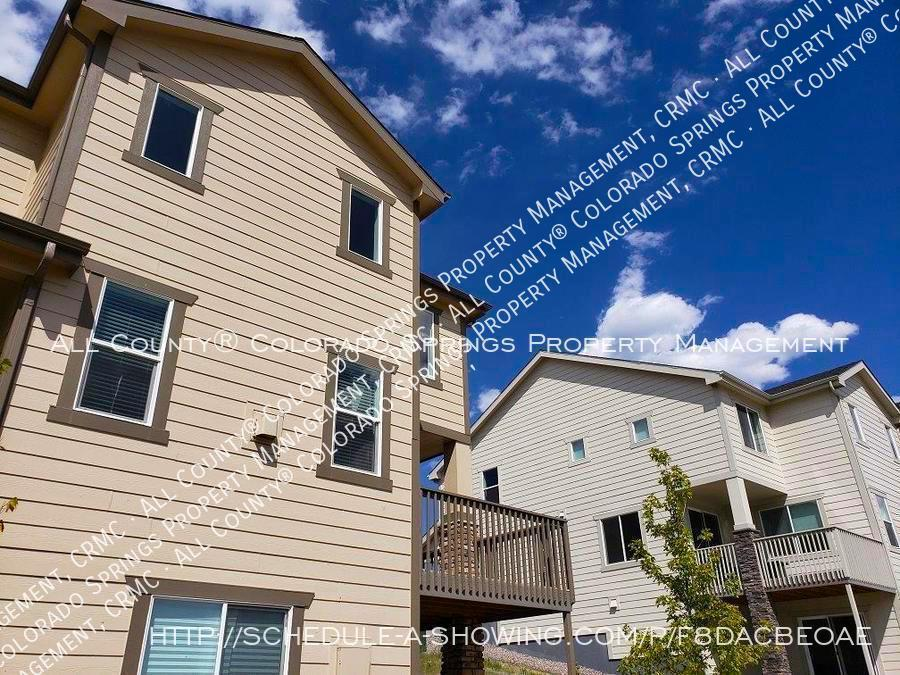 3 bedroom monument town home for rent near us air force academy z8