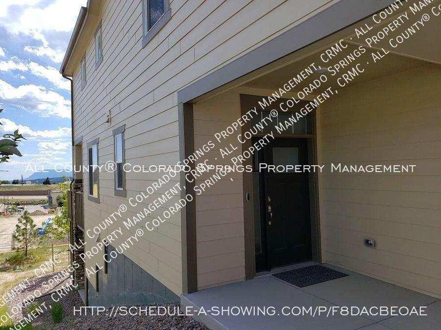 3 bedroom monument town home for rent near us air force academy z7