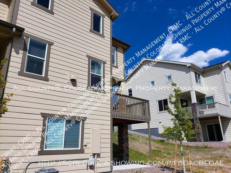 3 bedroom monument town home for rent near us air force academy z9