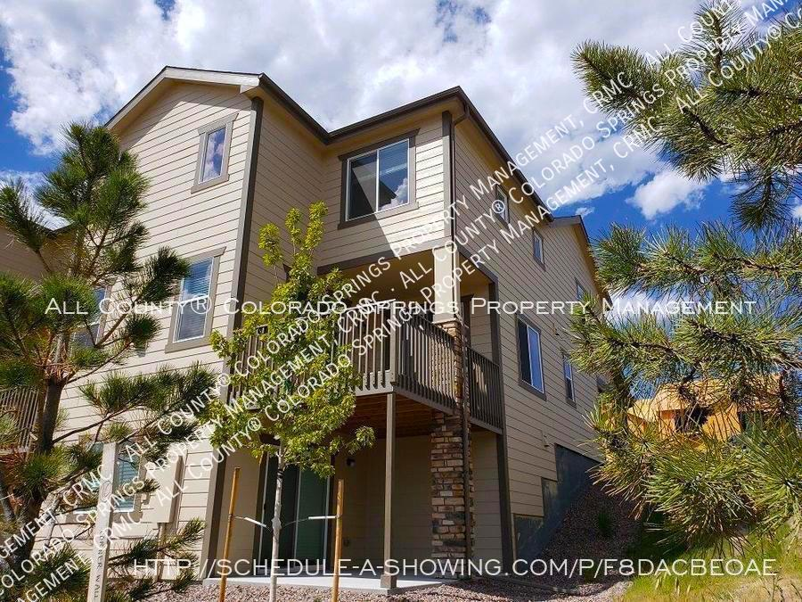 3 bedroom monument town home for rent near us air force academy za