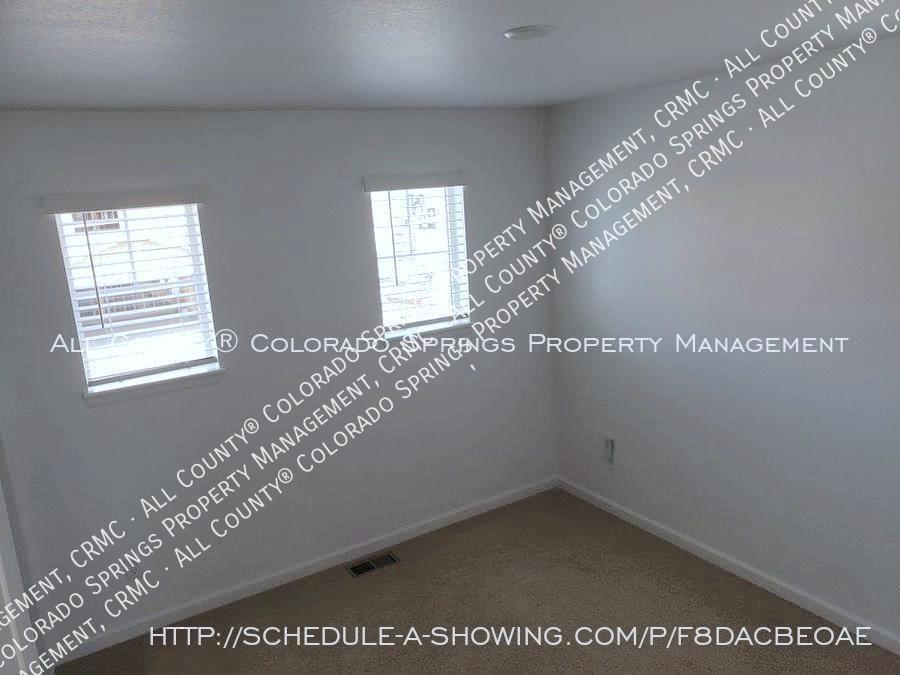 3 bedroom monument town home for rent near us air force academy e