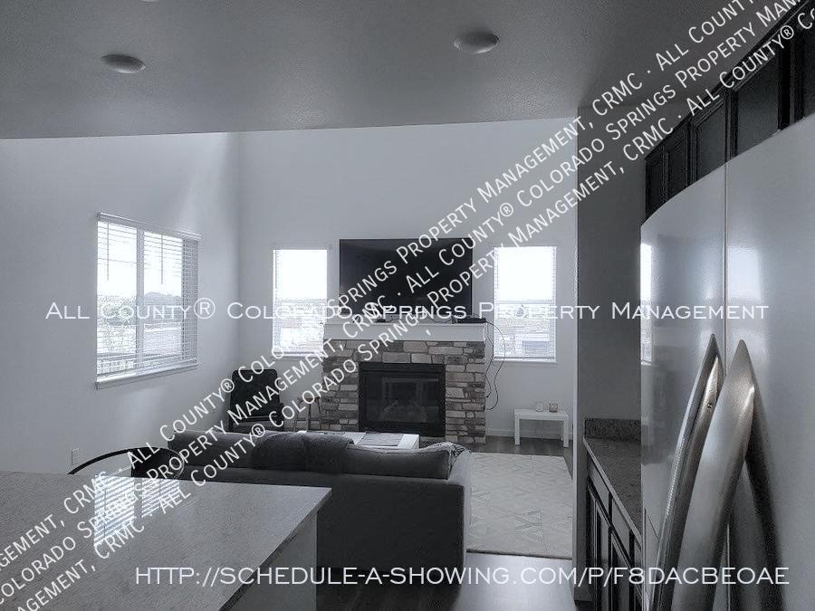 3 bedroom monument town home for rent near us air force academy 1