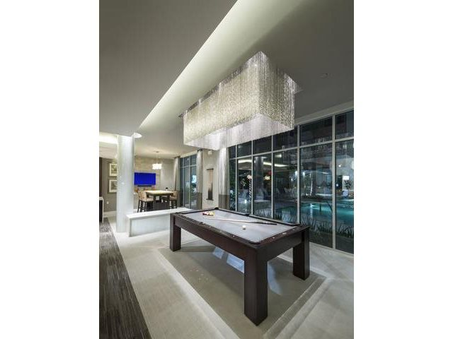 Hdtv lounge with billiards and fully equipped kitchen