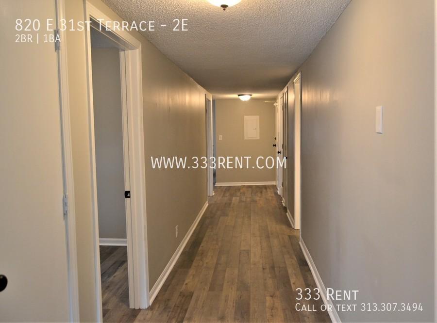 3.hallway leading to kitchen