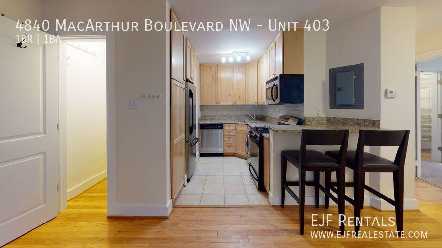 4840 MacArthur Boulevard NW, Unit 403 Washington DC 20007