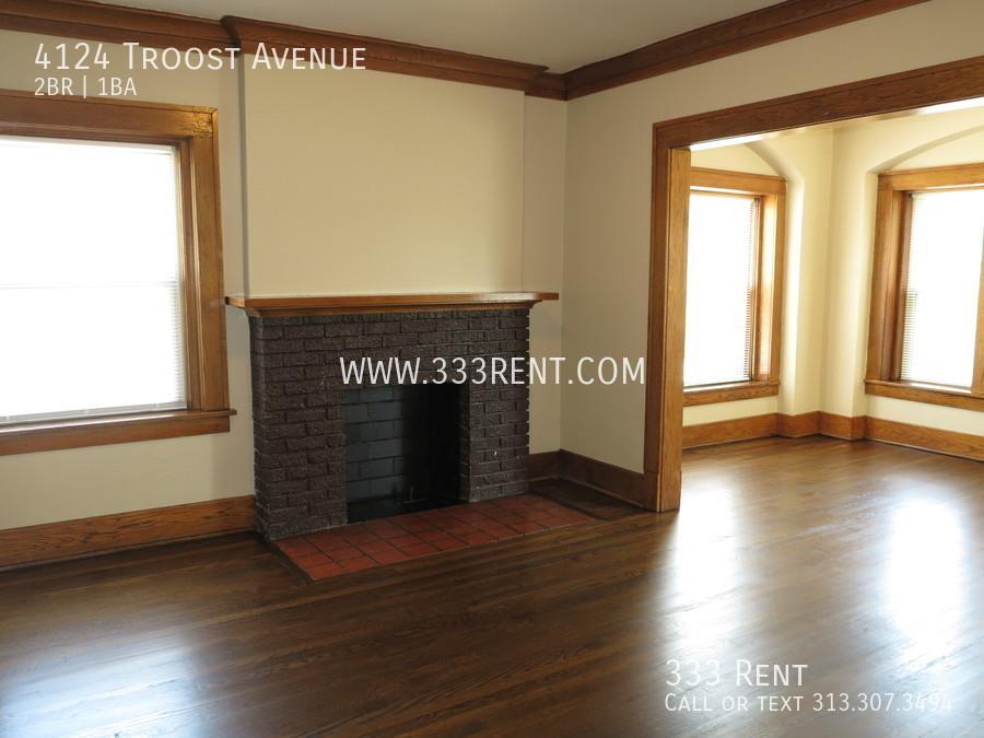2decorative fireplace