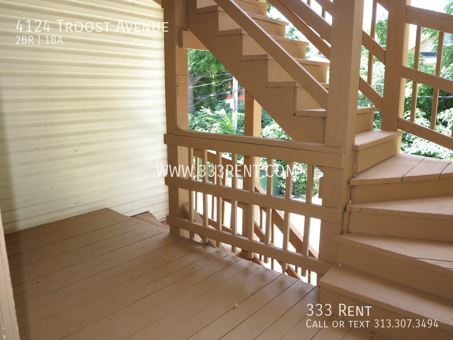10view of back stairs