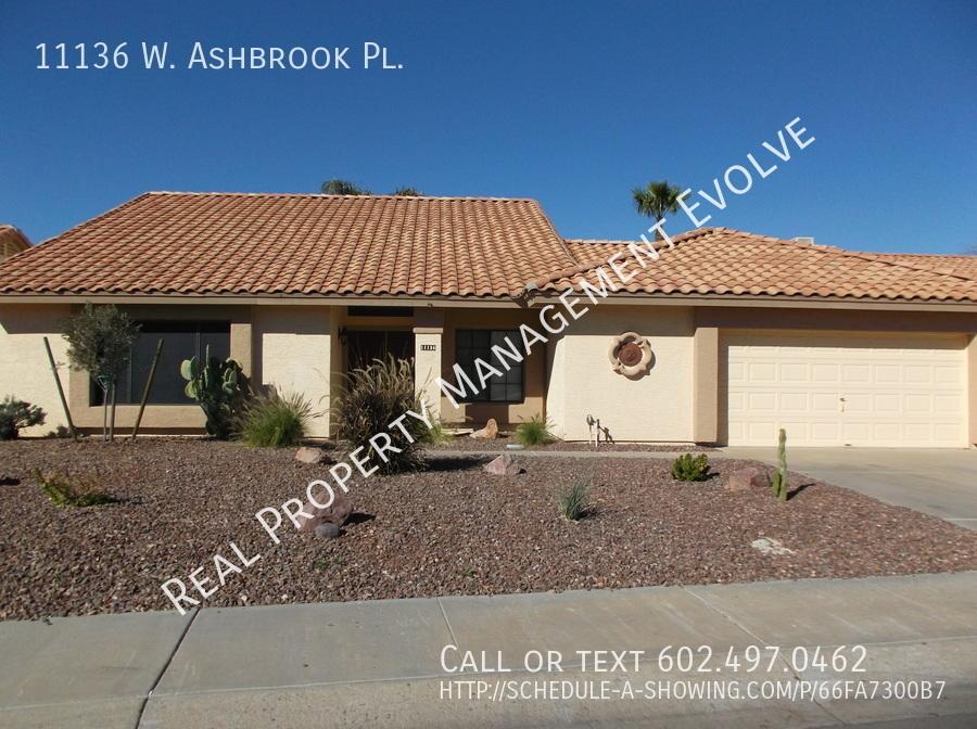 $1750 per month , 11136 W. Ashbrook Pl.,