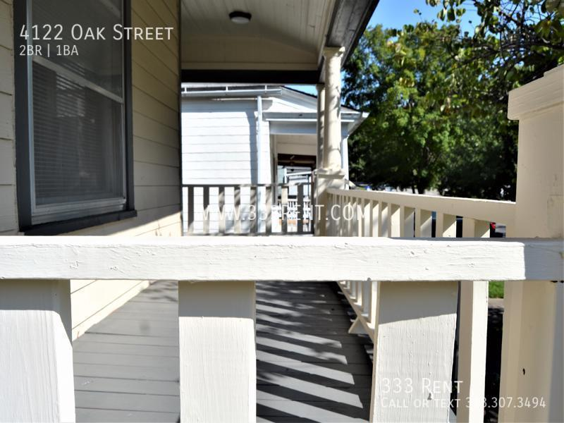 2covered porch