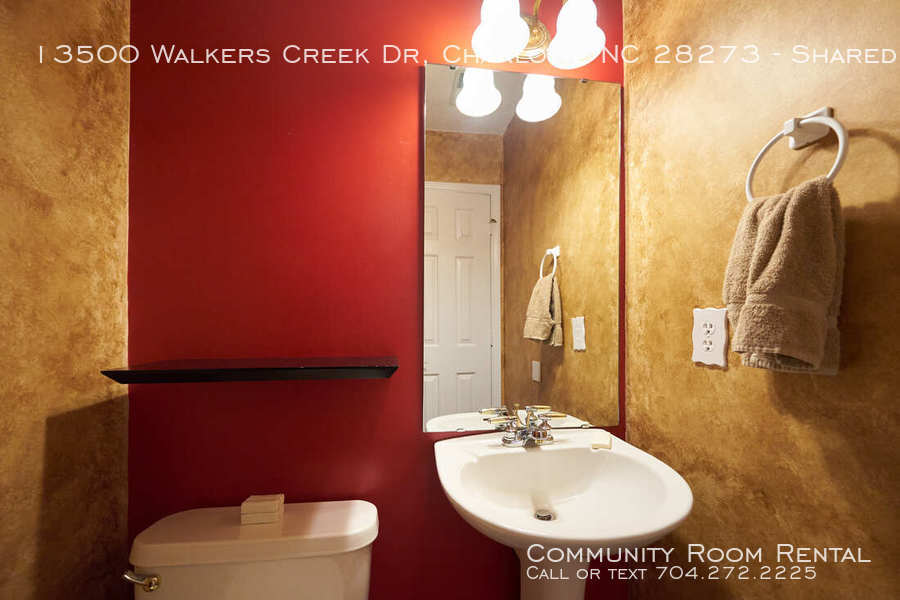 Downstairs shared bath walkers creek orig
