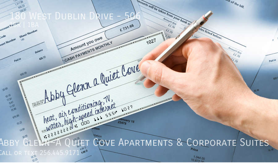 28 write 1 check   pay for all your housing costs  no separate utility accounts to set up%21