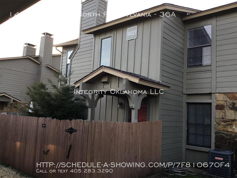 Townhouse for Rent in Oklahoma City