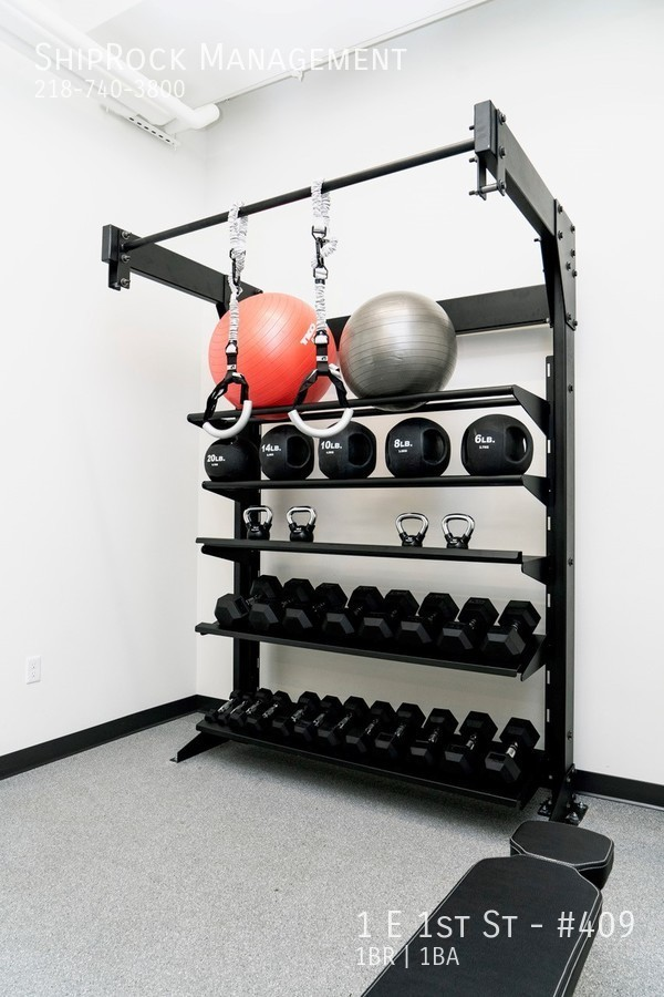 Cove apartments workout room equipment