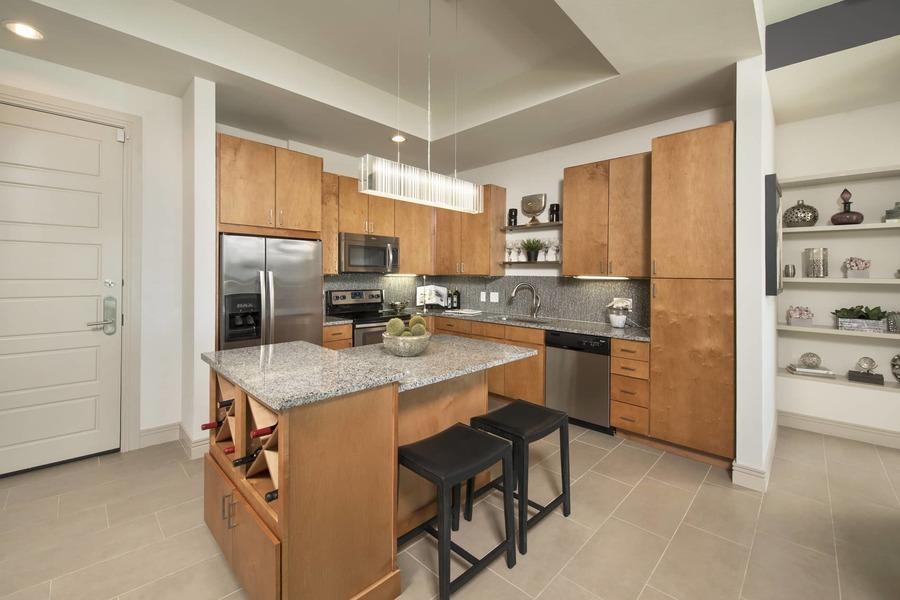 Apartmentriver fiori unit1056 b2g 2017 kitchen bg