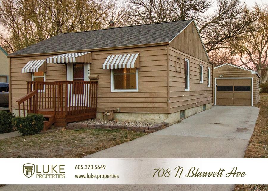Luke properties 708 n blauvelt ave sioux falls sd 57103 house for rent