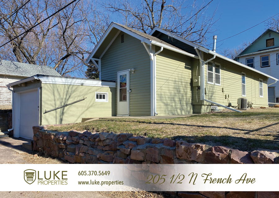 Luke properties 205 1 2 n french ave sioux falls sd 57103 house for rent
