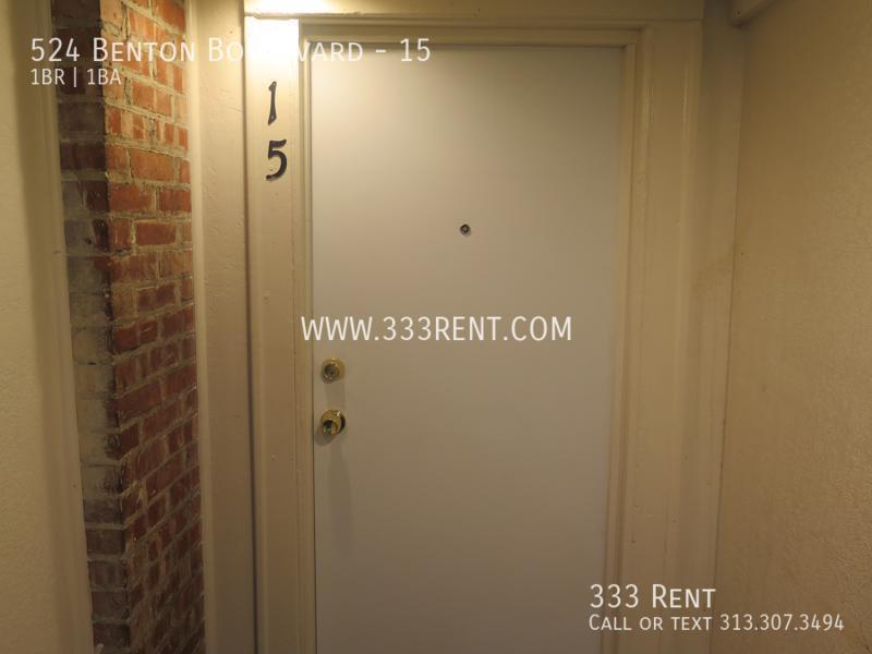 1front door of  15
