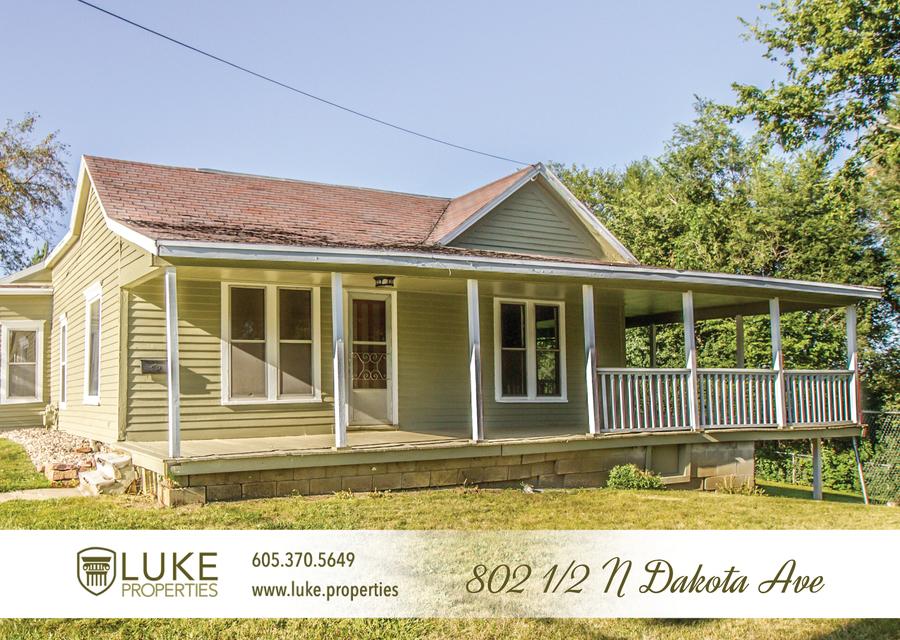 Luke properties 802 1 2 n dakota ave sioux falls sd house for rent