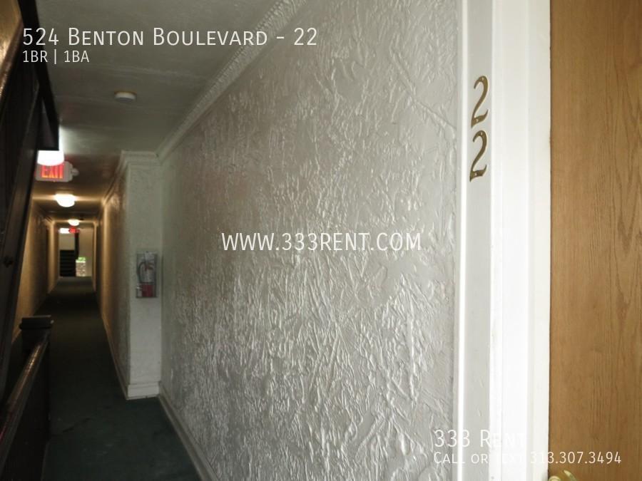 1door to unit 22