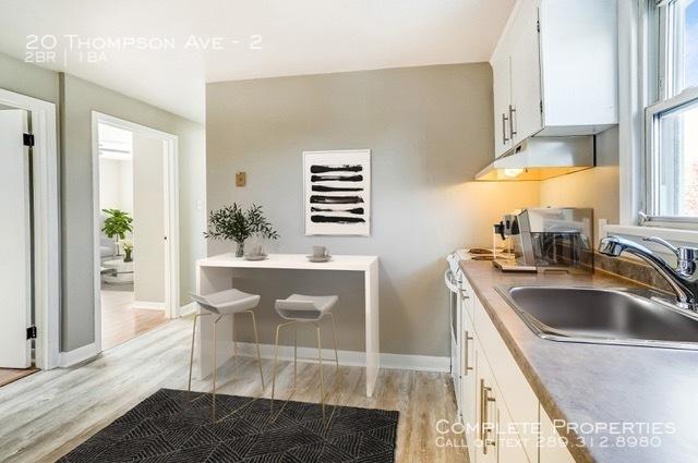 Second floor kitchen staged %281 of 2%29