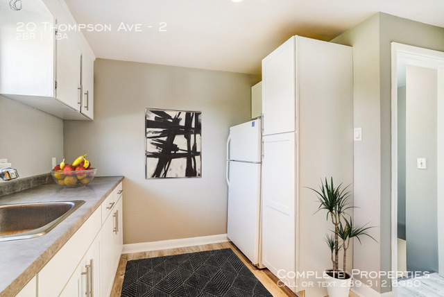 Second floor kitchen staged %282 of 2%29