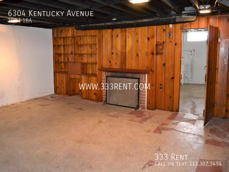 13partially finished basement