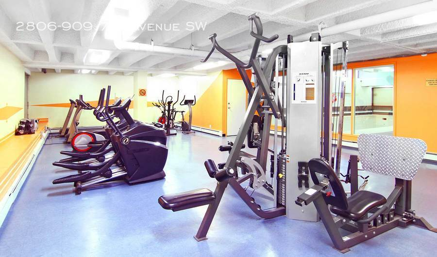 Old excercise room
