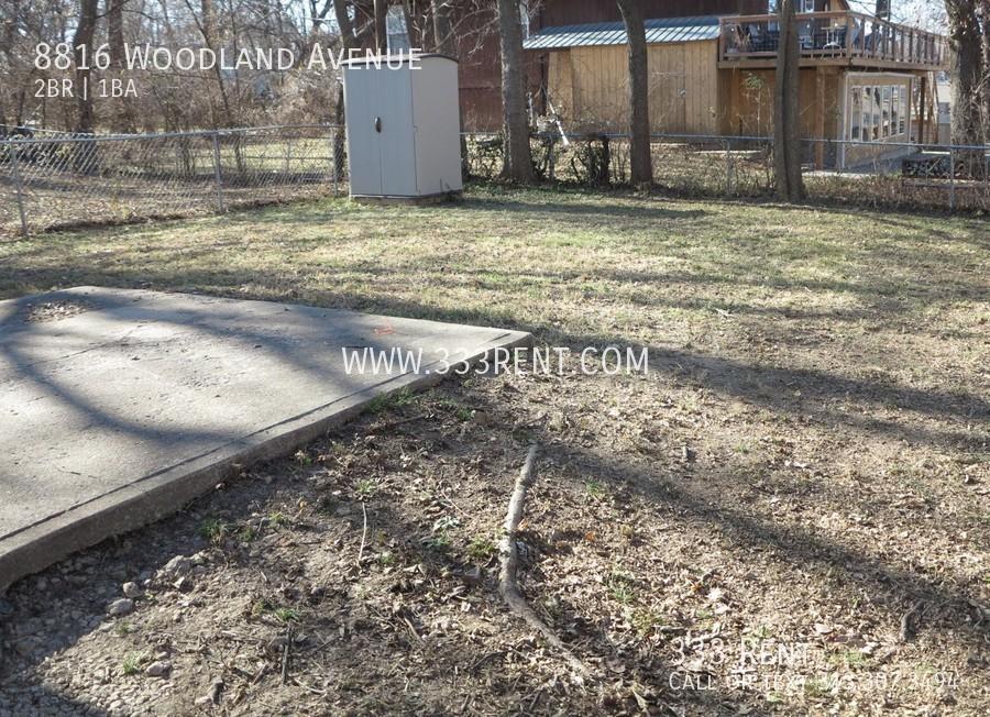 7back yard