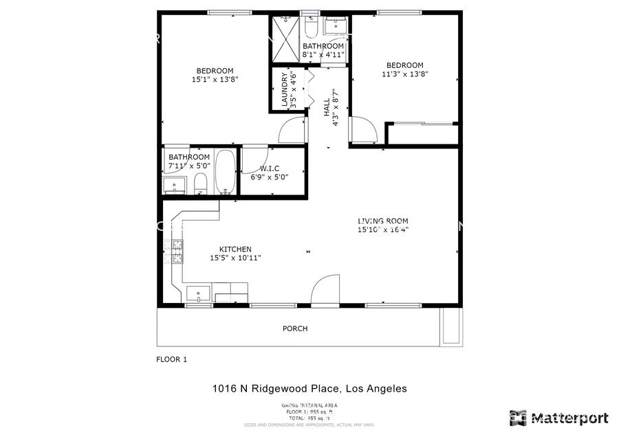1016 n ridgewood place los angleles