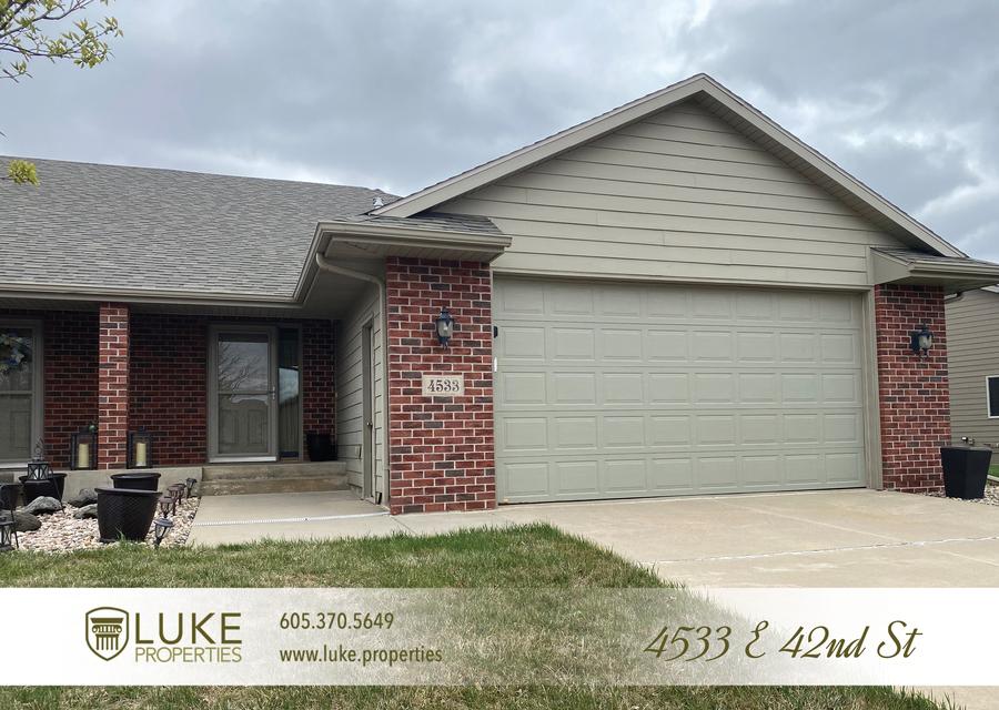Luke properties 4533 e 42nd st sioux falls south dakota 57110 home for rent