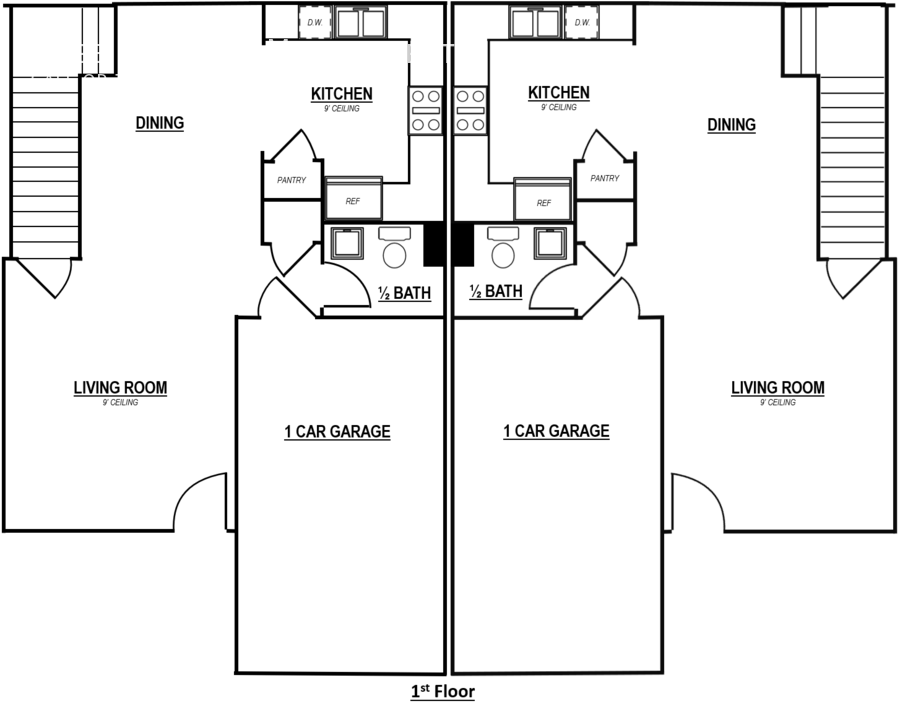 Reserve 2 bedroom   zoomed in   2 units   1st floor