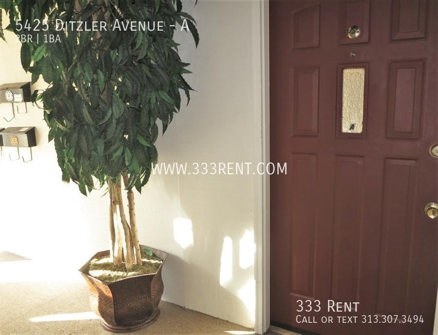 1front door from entryway