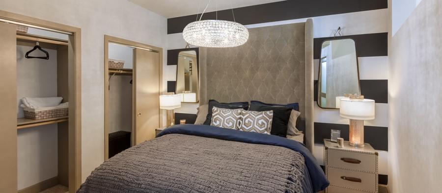 5 post south lamar 1br model phase 2 bedroom 1200x525 min