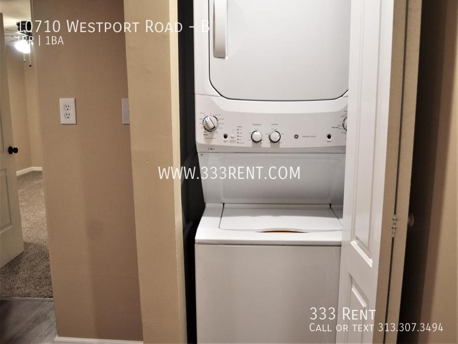 9washer and dryer