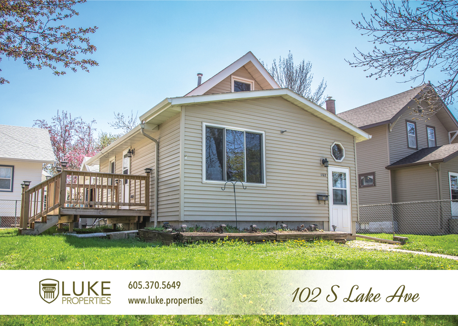 Luke properties 102 s lake sioux falls sd 57104 house for rent