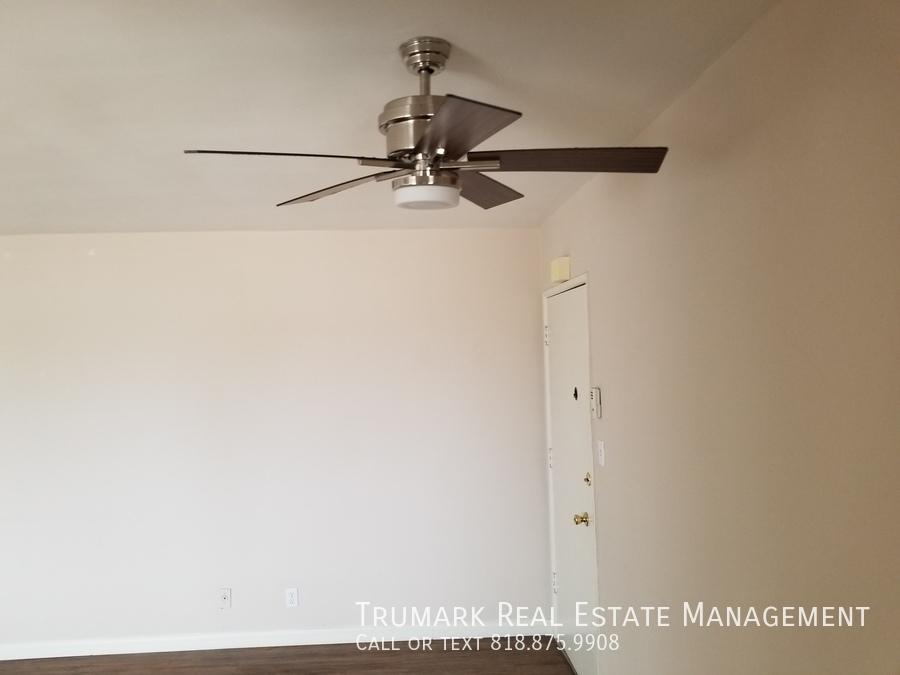 17 main room fan and front door