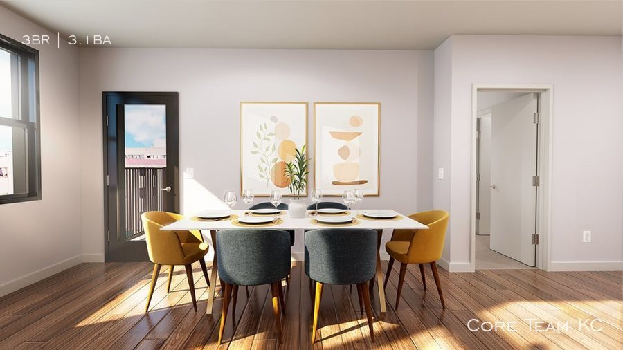 Townhome   dining